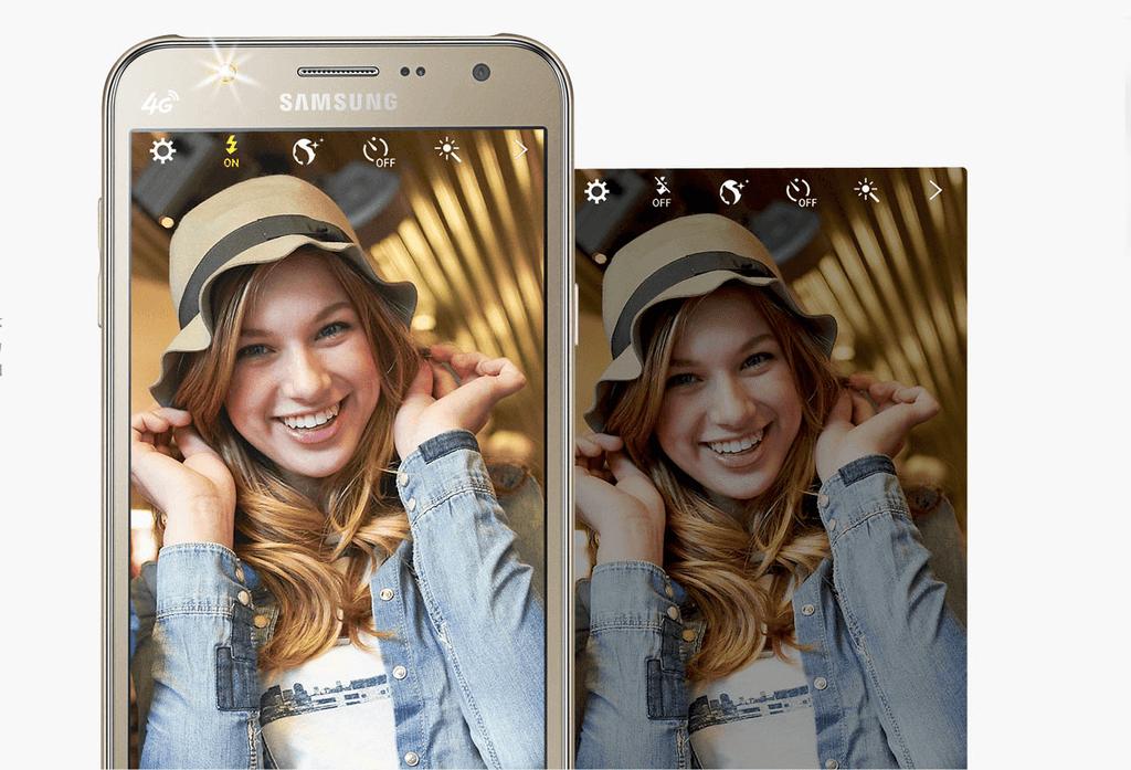 Samsung Galaxy J5 2016 камера