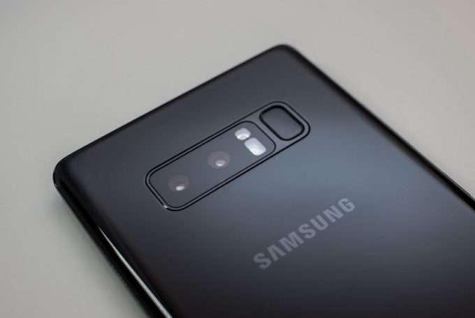 Samsung Galaxy Note 8 основная камера