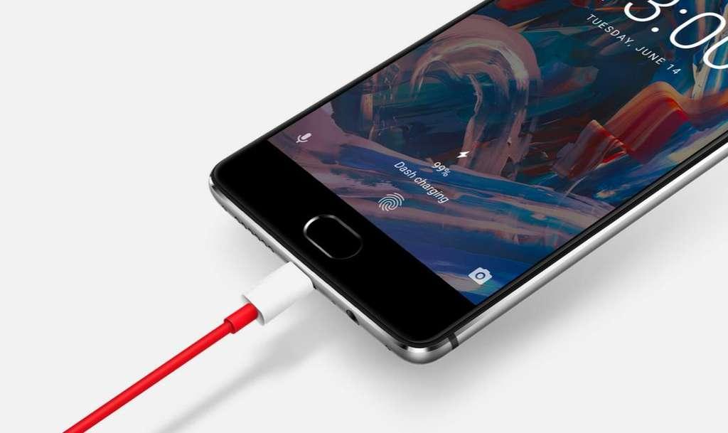 OnePlus 3 быстрая зарядка