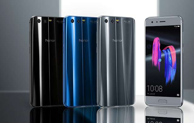 цветовое оформление Huawei Honor 9