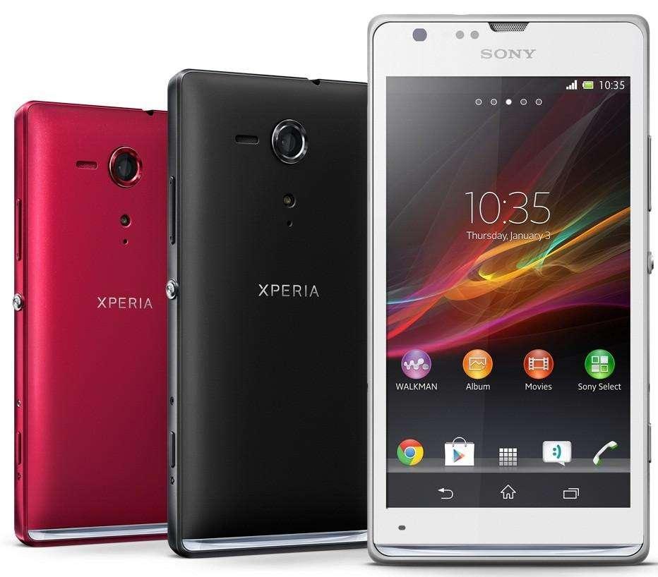 Sony Xperia SP дизайн