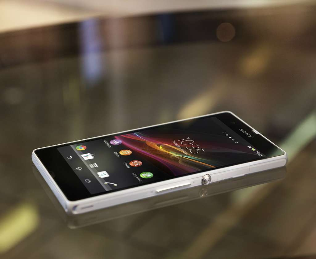 Sony Xperia SP экран
