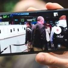 Sony Xperia XZs пример фото