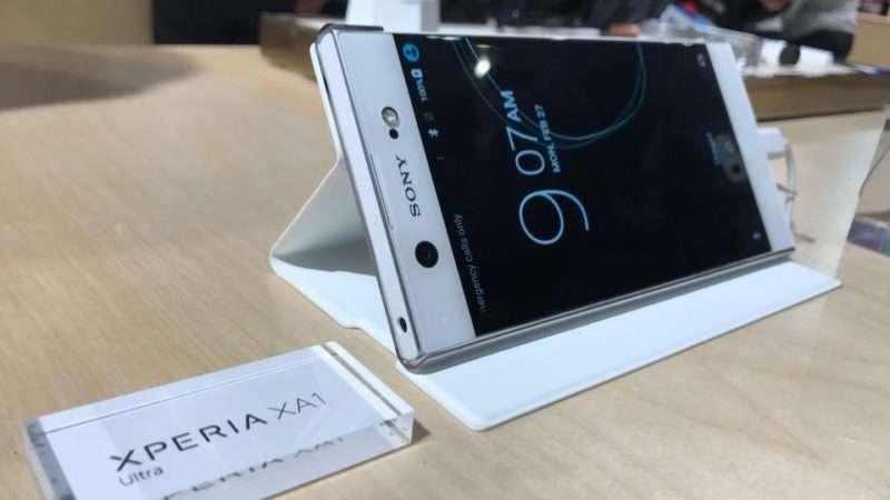Sony Xperia XA1 Ultra  дизайн