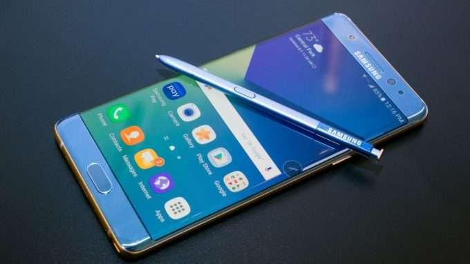 Samsung Galaxy Note 8 дисплей