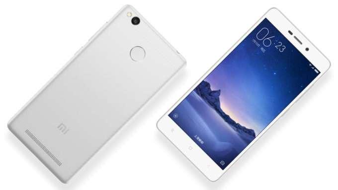 Xiaomi Redmi 3X дизайн