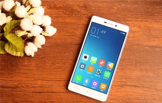 Xiaomi Redmi 3X дисплей