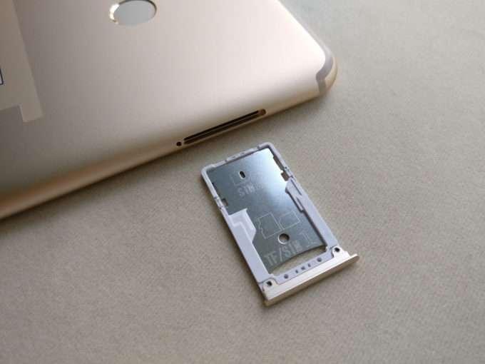 слот для сим карты Xiaomi Mi Max 2