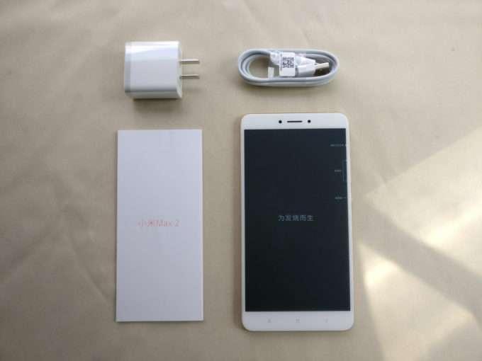 комплект поставки Xiaomi Mi Max 2