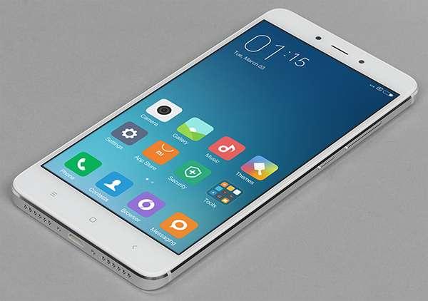 Xiaomi Redmi Note 4 лицевая сторона