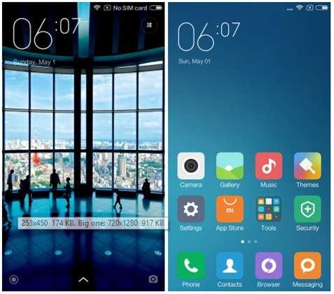 Xiaomi Redmi 3 Pro интерфейс