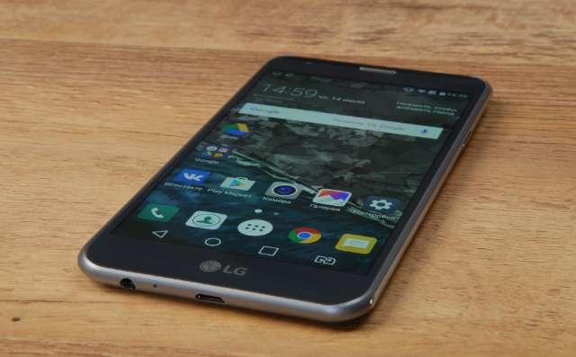 LG X Cam дисплей