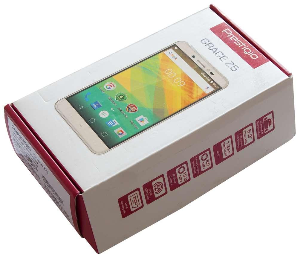 Prestigio Grace R5 LTE упаковка