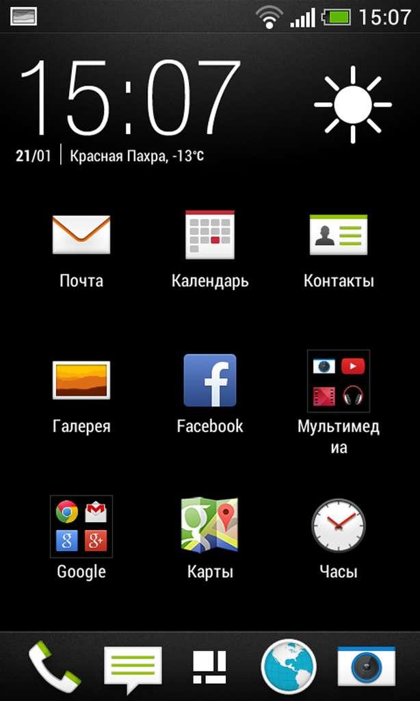 программное обеспечение HTC Desire 300