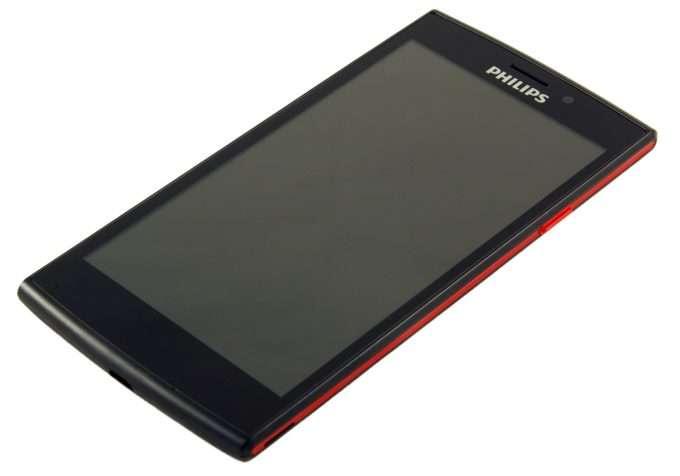 лицевая сторона Philips Xenium V377