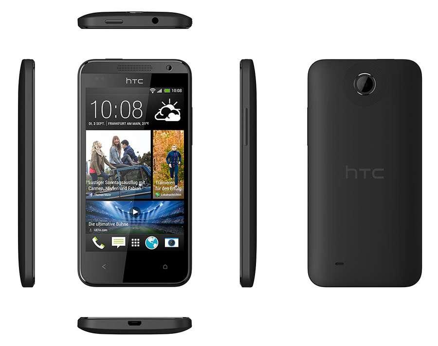 Внешний вид и конструкция HTC Desire 300
