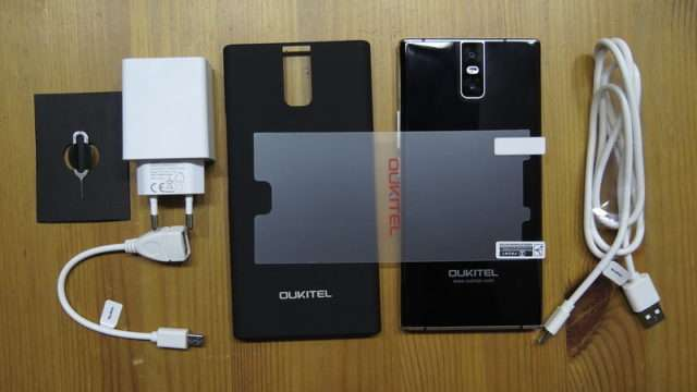комплект поставки Oukitel K3
