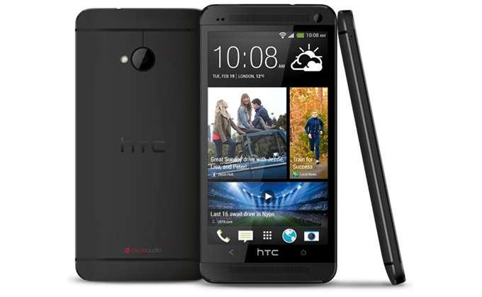 HTC Desire 626G Dual Sim в черном цвете.