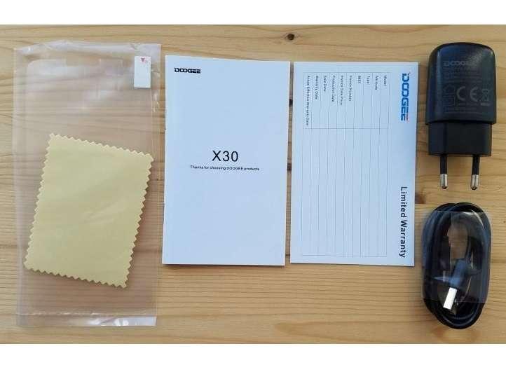 комплект поставки Doogee X30