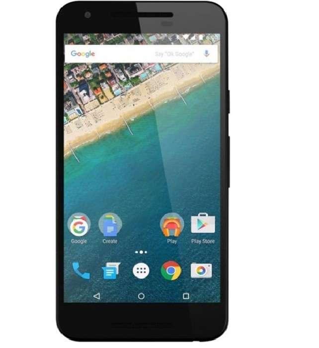 лицевая сторона LG Nexus 5X