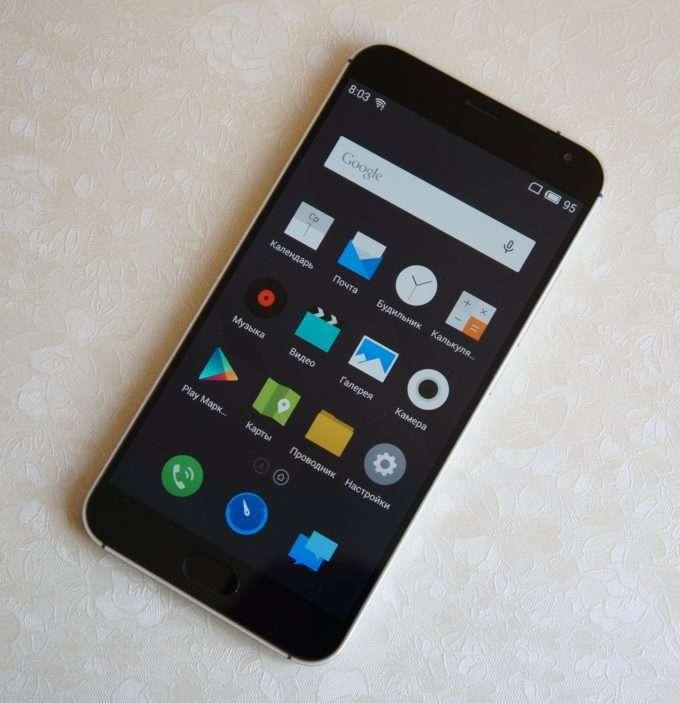 Смартфон Meizu MX5.