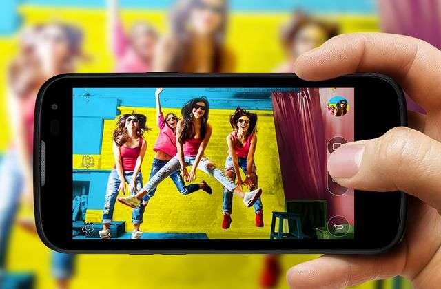 Камера смартфона LG K3