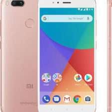 Розовый Xiaomi Mi A1