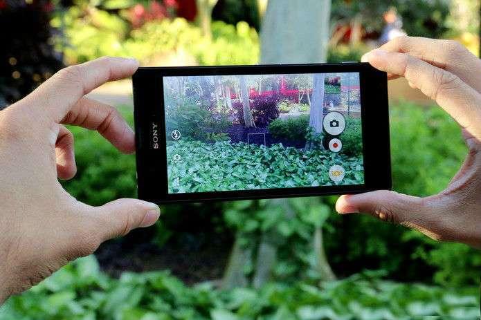 Sony Xperia T3 основная камера