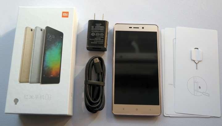 Xiaomi Redmi 3S комплектация