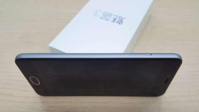 Левое ребро Meizu M3