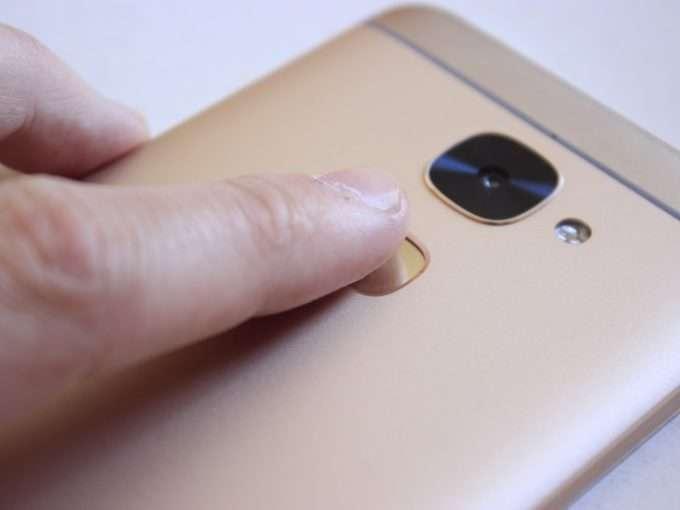 LeEco S3 сканер отпечатка пальца
