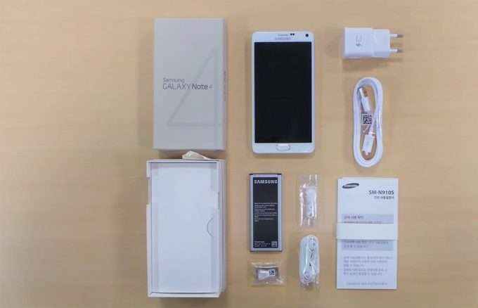 Комплектация смартфона samsung