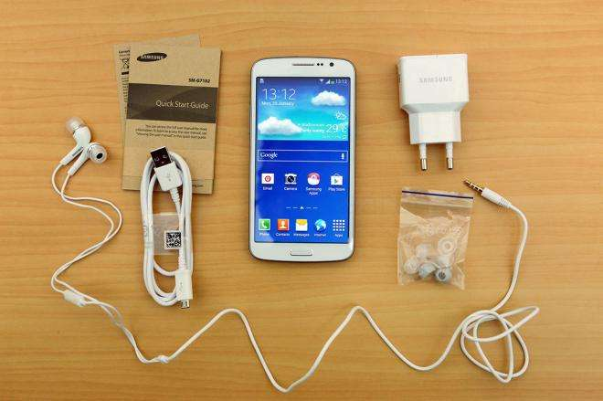 Samsung Galaxy Grand 2 комплектация