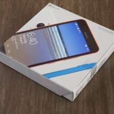 Коробка Microsoft Lumia 640 XL
