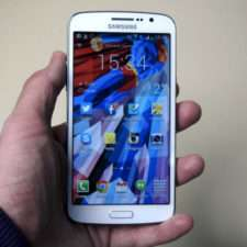 Вид спереди Samsung Galaxy Grand 2