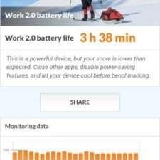 Тест батареи PCMark