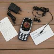 Комплектация Nokia 3310 (2017)