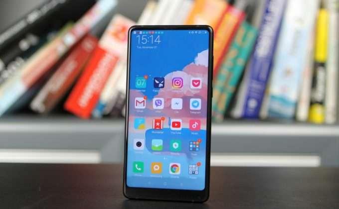 лицевая панель Xiaomi Mi Mix 2