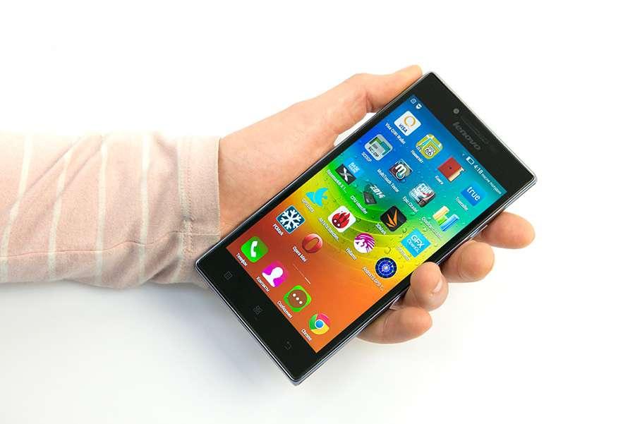 Lenovo P70 дисплей