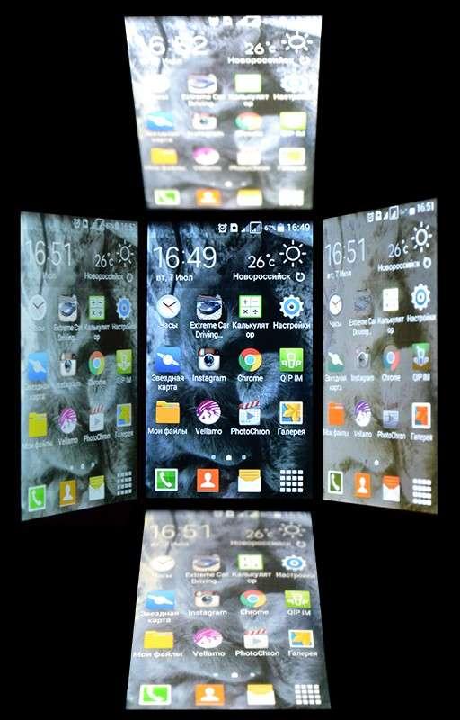 Samsung Galaxy Ace 4 дисплей