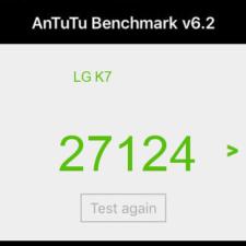 LG K7 тест AnTuTu