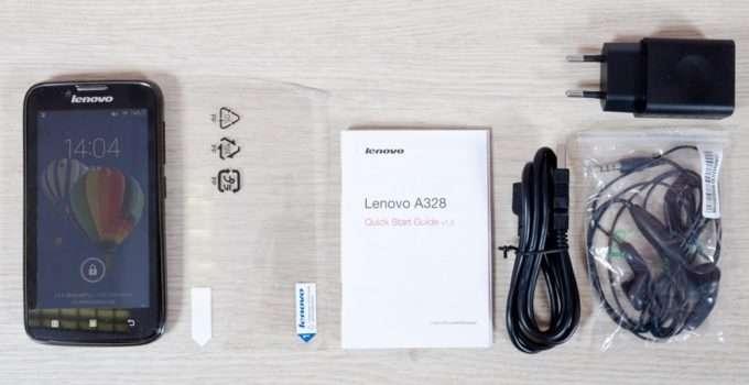 Lenovo A328 комплектация