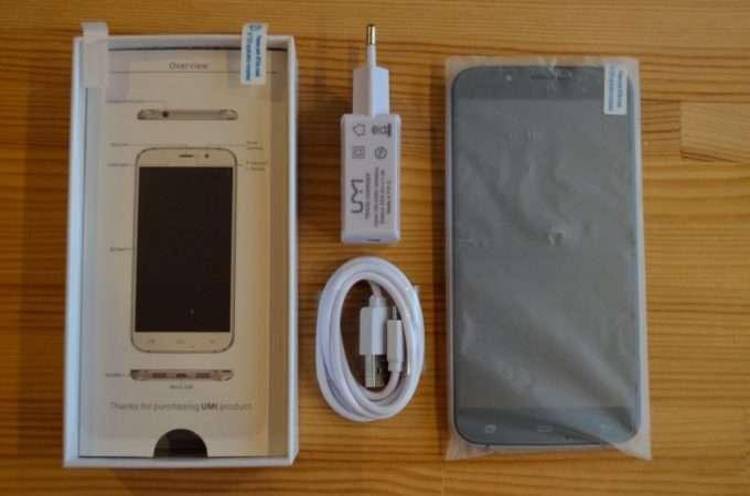 комплектация смартфона с коробкой