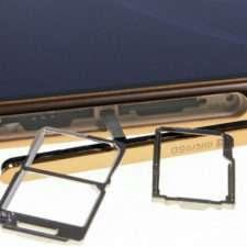 Sony Xperia M5 слоты для SIM-карт