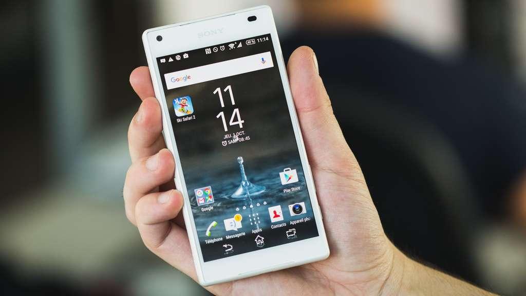 Sony Xperia Z5 Compact Дисплей смартфона