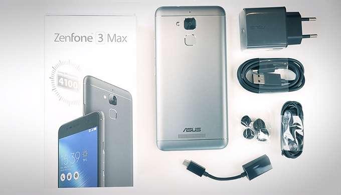 ASUS ZenFone 3 Max комплектация