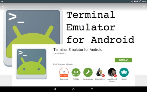 Эмулятор терминала для Xizomi
