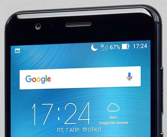 Разговорный динамик Asus ZenFone 3 Zoom