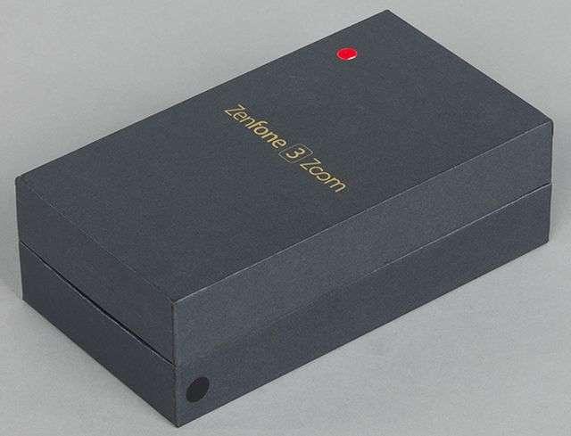 Внешний вид коробки Asus ZenFone 3