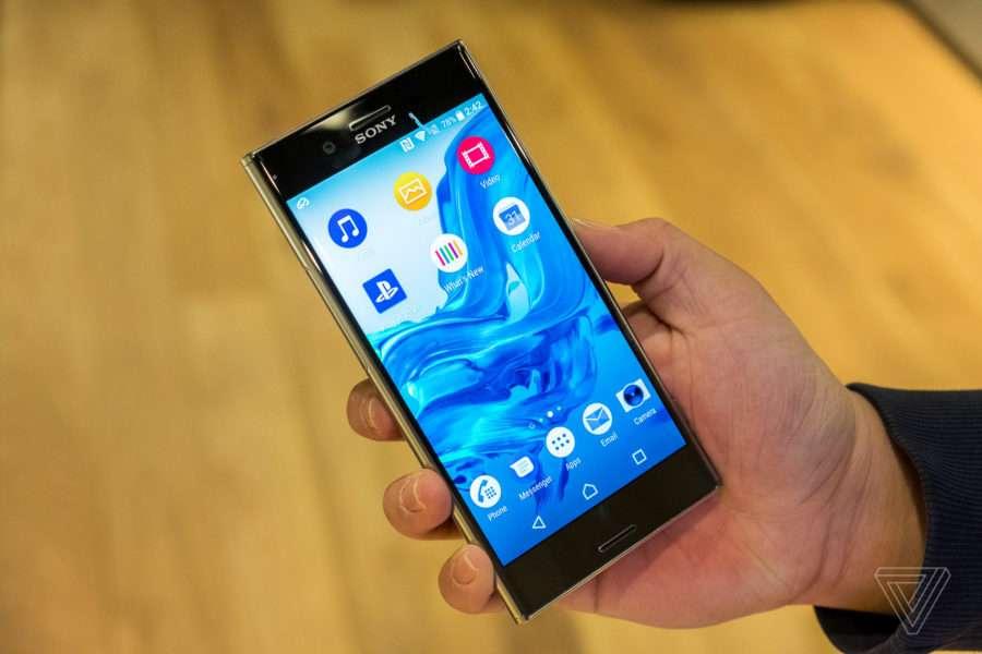 Sony Xperia XZ Premium дизайн